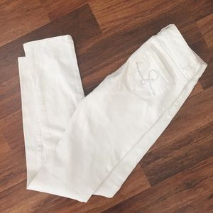 Lilly Pulitzer White Skinny Jeans